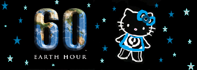 Hello Kitty Earth Hour