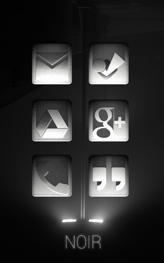 Tha Noir - Icon Pack Screenshot 3