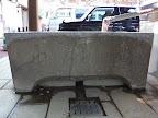 境内手水鉢「亀子山」