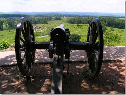 Little Round Top cannon