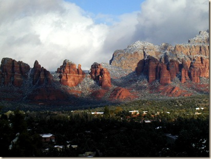 Kissed by Snow (Sedona, AZ) by Light. © 2000-2009 Bonnee Klein Gilligan. All rights reserved.