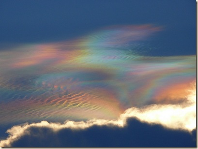Iridescent clouds by wilco1900, Round Rock TX Aug, 1 2008