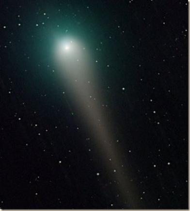 comet lulin by John-Nassr 2-24-09