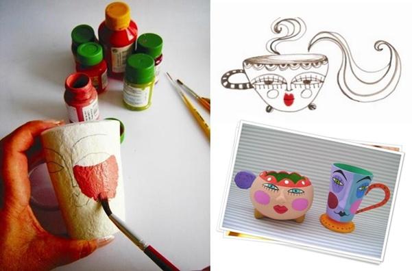Artesanato Ou Artesanato ~ Passo a passo papel mach u00ea dcoracao com blog de decoraç u00e3o e tutorial diy