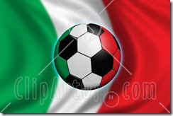 51591-Royalty-Free-RF-Clipart-Illustration-Of-A-Soccer-Ball-Flying-In-Front-Of-A-Waving-Italy-Flag