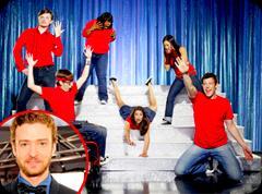 Justin Timberlake não quer suas músicas no seriado Glee