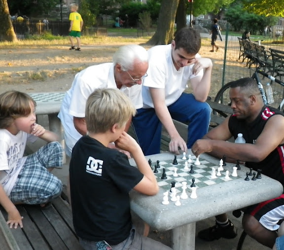 Sjakk i parken