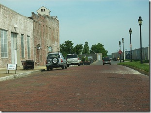 Paducah Street near Wall