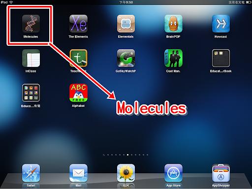 Molecules 的圖示