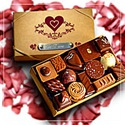 Chocolate Box With I Love You Engraved In French