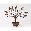 Ancient Graffiti Jewelry Tree wBowl