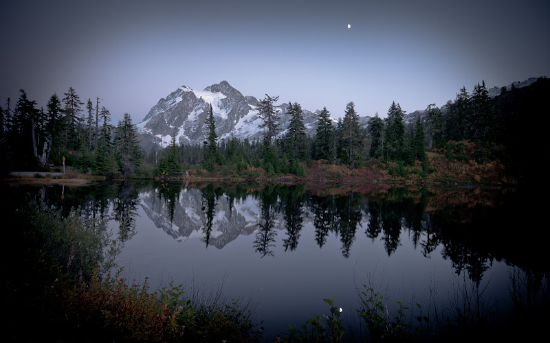 jesień -- Mt Baker