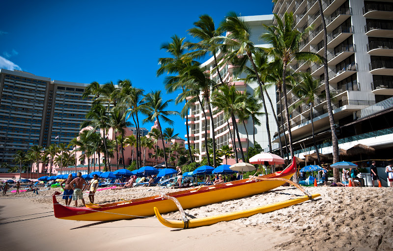Honolulu, Waikiki Beach