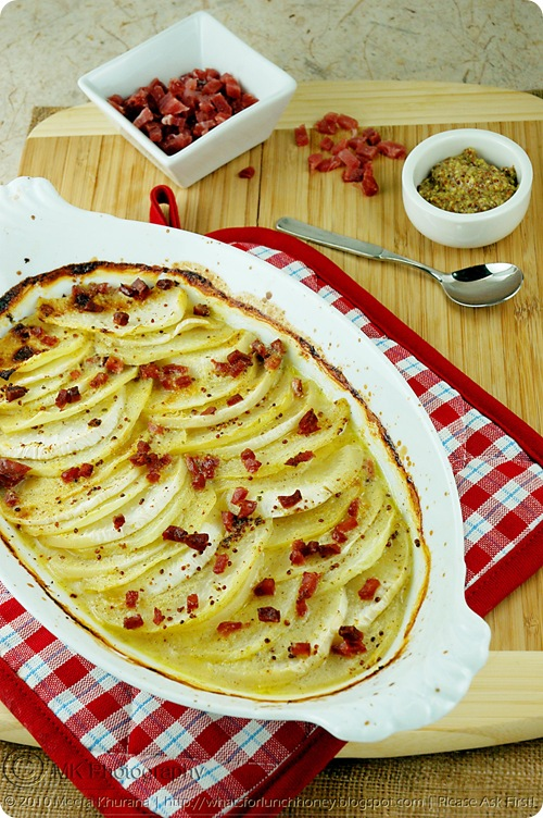 Kohlrabi Turnip Gratin (02) by MeetaK