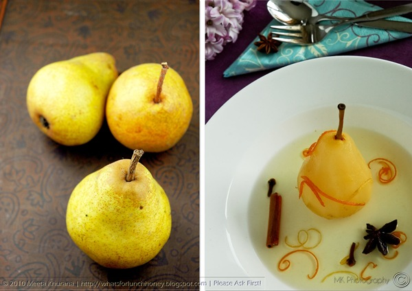Prosecco Pears Diptych (01) by MeetaK