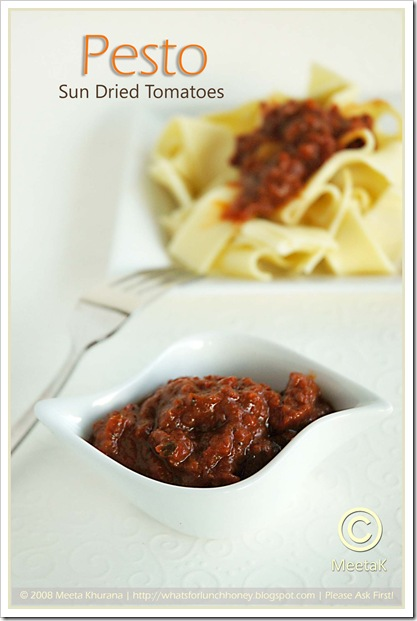 Sundried Tomato Pesto (01) by MeetaK
