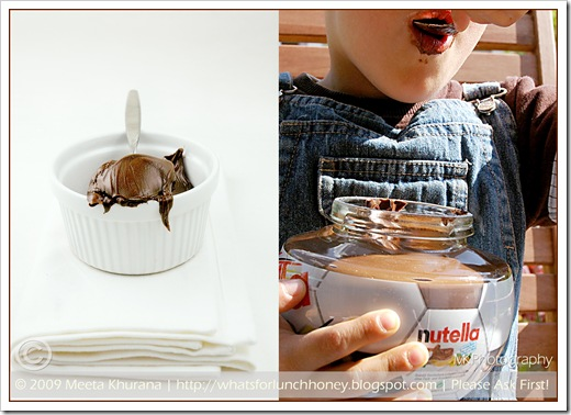 Nutella Diptych (01) by MeetaK