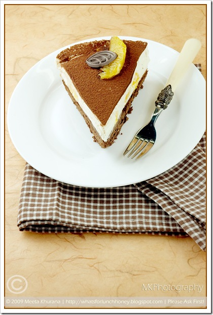 Orange Tiramisu Torte (02) by MeetaK