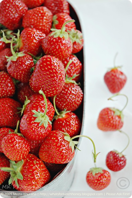 Strawberries01framed