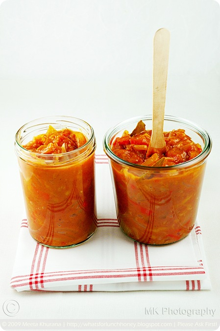 Tomato Apricot Chutney (02) by MeetaK