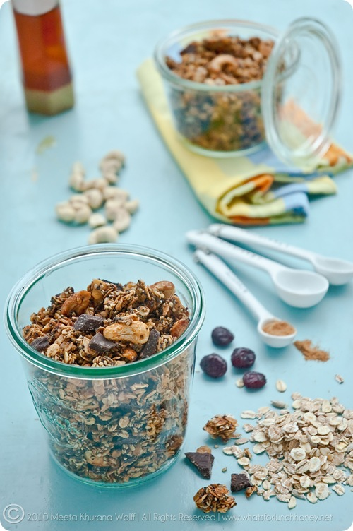Granola Berry Nut Chocolate Intens (0013) by MeetaK