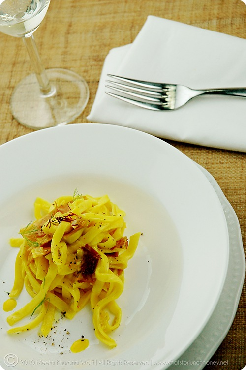 Tagliatelle in Saffron Sauce (02)by MeetaK