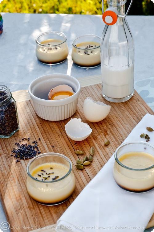 Lavender Cardamom Flan de la Casa (0016) by Meeta K. Wolff