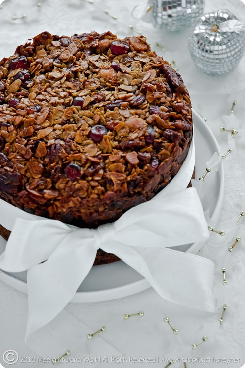 Florentine Christmas Cake (0014) by Meeta K. Wolff