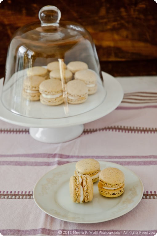 Lemon Pepper Macarons (0016) by Meeta K. Wolff