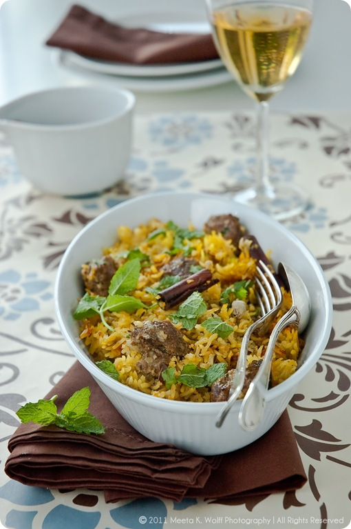 Hyderabadi Lamb Biryani (0025) by Meeta K. Wolff