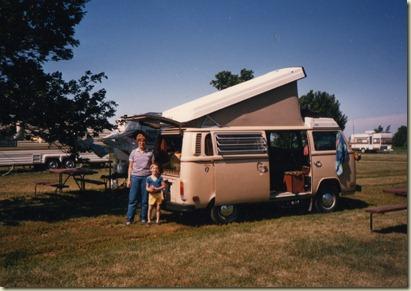 79 Volkswagon Camper Van