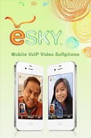 Screenshot of eSky Mobile VoIP Video SMS
