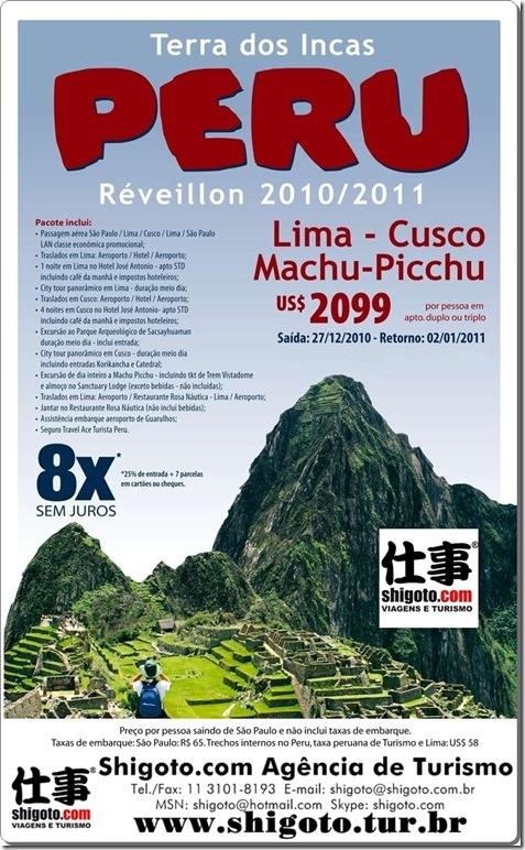 Peru - Reveillon