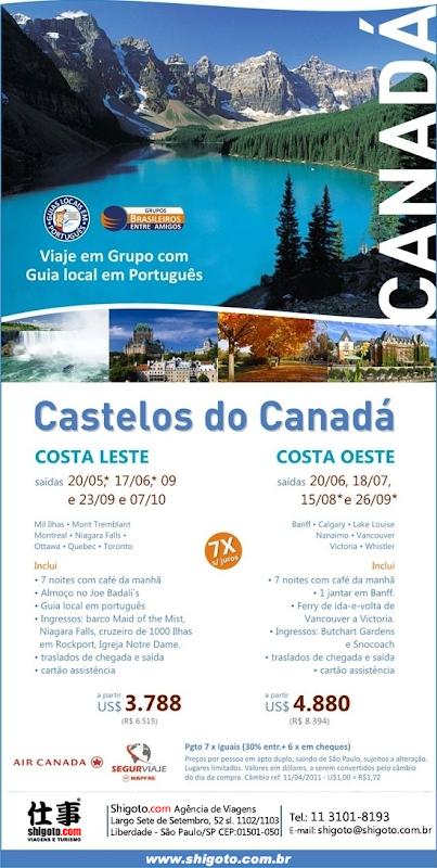 castelos do canadá