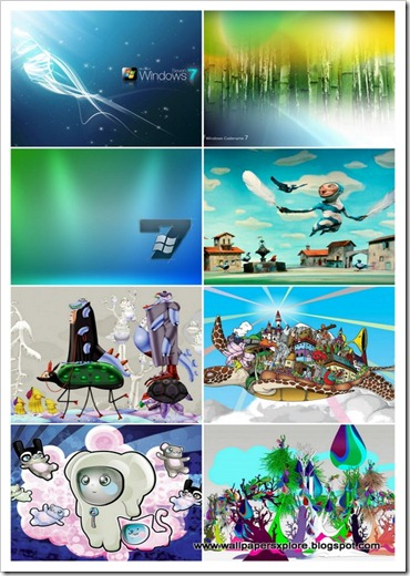 30 Windows 7 ultimate collection of wallpapers