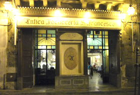 Addiopizzo - Das schutzgeld-freie Restaurant Antica Focacceria San Francesco in Palermo