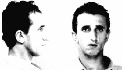 Sizilien - Polizei-Foto des Mafia-Bosses von Agrigento - Gerlandino Messina