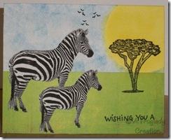 Zebras Birthday