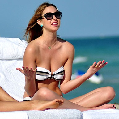 Whitney Port en bikini