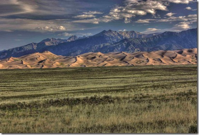 Great Sand Dunes Morning