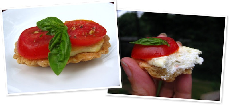 View tomato tart