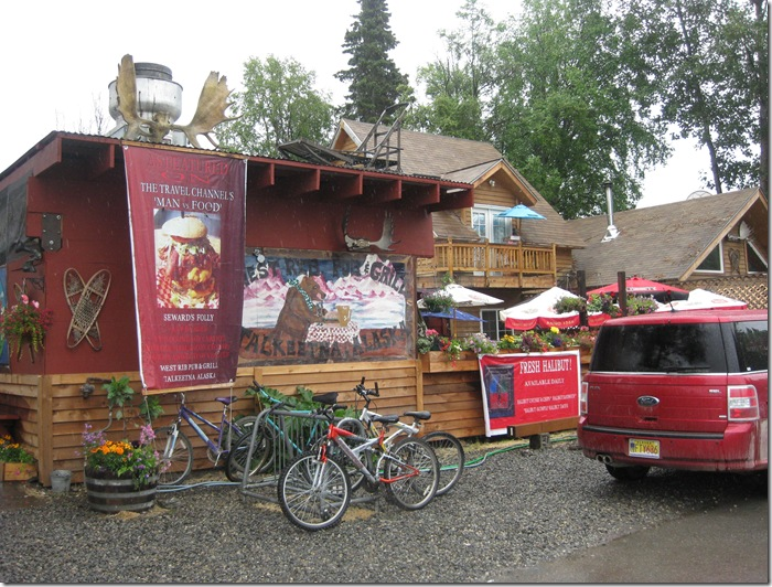 lunch place in Talkeetna