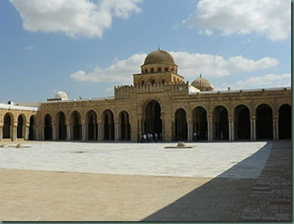 330px-Courtyard_of_the_Great_Mosque_of_Kairouan