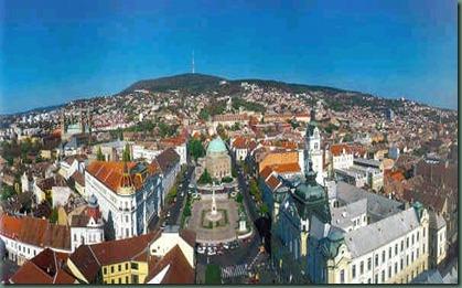Pécs_látképe