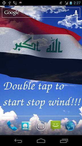 3D Iraq Flag Live Wallpaper +