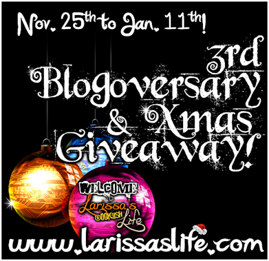 3rd blogoversary xmas giveaway image