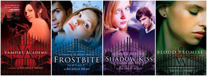 vampire-academy-series books 1-4