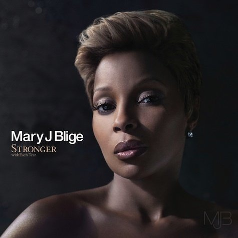 mary j blige stronger with each tear album cover. MARY J. BLIGE- STRONGER WITH