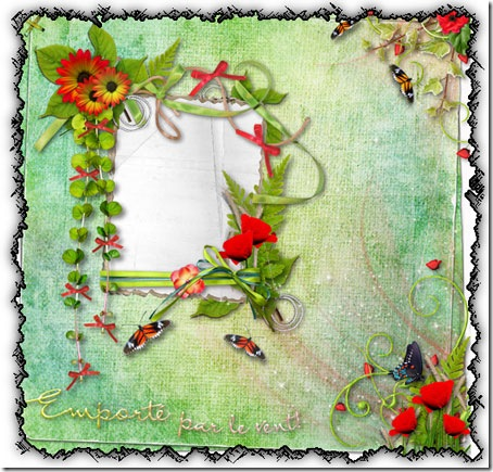 Flower frames png,digital photo frames