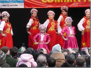 Монгольский танец